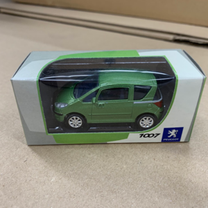 1008greencar Peugeot 1007 Green Model Car
