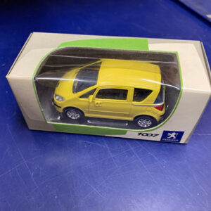 1007yellowmodel Peugeot 1007 Yellow Model Car