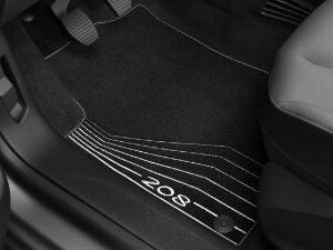 Peugeot 208 2012-2019 Velour Mats 16134578 80