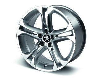 """Peugeot RCZ 2009-2015 Alloy Wheel Terrific 18"""""""