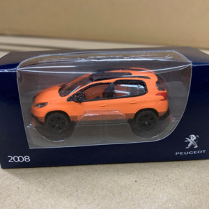 2008ModelOrange Peugeot 2008 Orange Model Car