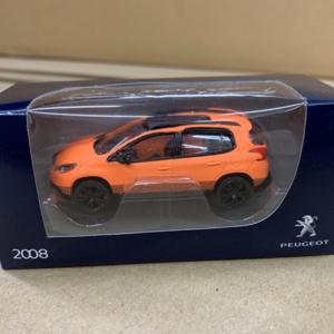 2008ModelOrange Peugeot 2008 Orange Model Car