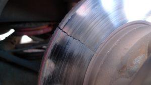 Cracked Brake Discs
