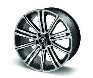"""Peugeot RCZ 2009-2015 Alloy Wheel Original 18"""" Dark Grey"""