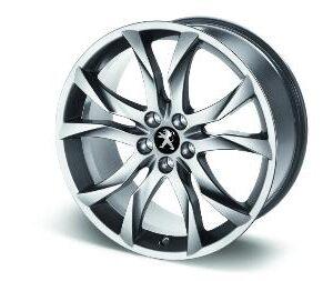 "Peugeot RCZ 2009-2015 Alloy Wheel Sortilege 19"""