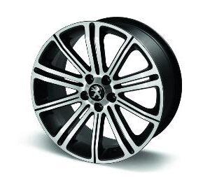 "Peugeot RCZ 2009-2015 Alloy Wheel Original 18"" Full Pyrite Grey"