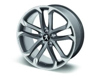 "Peugeot RCZ 2009-2015 Alloy Wheel Solstice 19"" Anthra Grey"