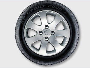 """Peugeot 307 2005-2008 Alloy Wheel Apollo 15"""""""