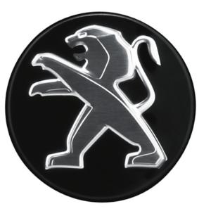Peugeot RCZ 2009-2015 For Aluminium Wheels Black