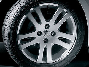 Peugeot 307 2005-2008 Alloy Wheel Cotya 15""