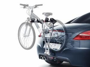 Peugeot Tow Bar Mounted Bike Carrier 2 Bicycles 9615 08