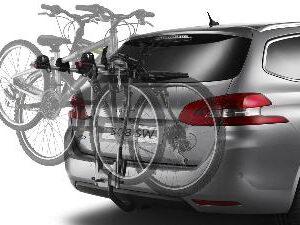 Peugeot Tow Bar Mounted Bike Carrier 3 Bikes 9615 09