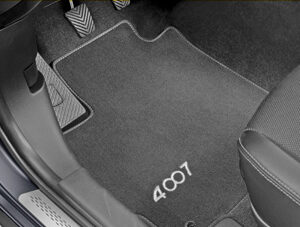 Peugeot 4007 2007-2012 Velour Mats 3rd Row