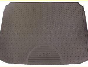 Peugeot 308 2008-2013 Boot Mat Rubber 9663 A4