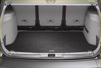 Peugeot 308 2008-2013 Boot Mat Textile 9663 A5