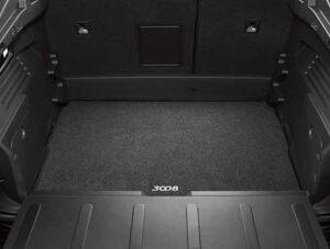 Peugeot 3008 2008-2016 Boot Mat Carpet 9663 E7