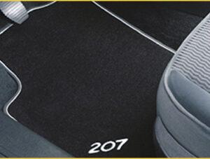 Peugeot 207 2006-2014 Velour Mats Front