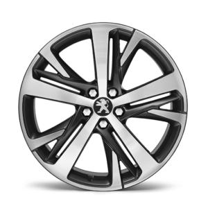 """Peugeot RCZ 2009-2015 Alloy Wheel Set 19"""" Technical Grey"""