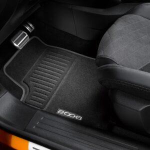 Peugeot 2008 2019-2021 Floor Mats Velour 16562401 80
