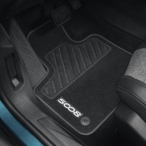 Peugeot 5008 2016-2020 Floor Mats Velour 16164468 80